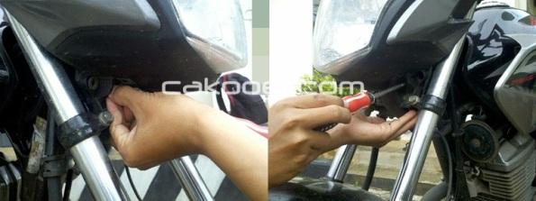cakpoer - verza headlamp - buka baut 2 gbg