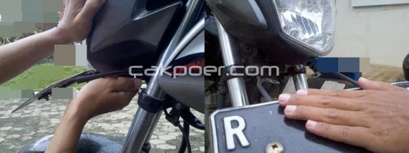 cakpoer - verza headlamp - buka baut gbg