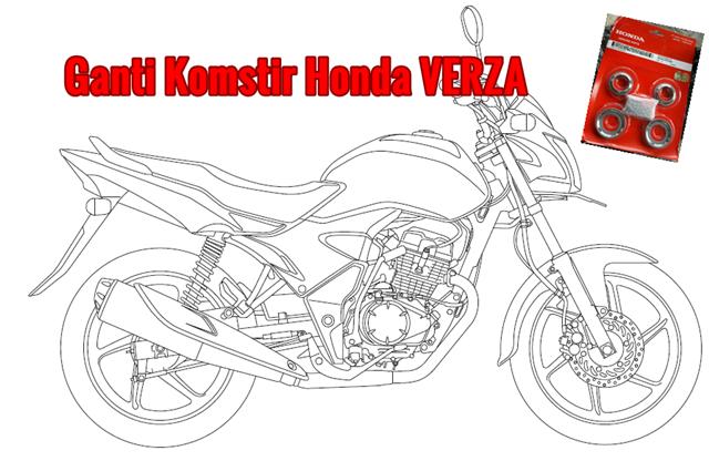 Tips Ganti Komstir Honda Verza