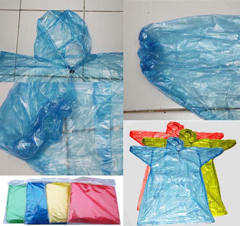 cakpoercom jas hujan plastik darurat