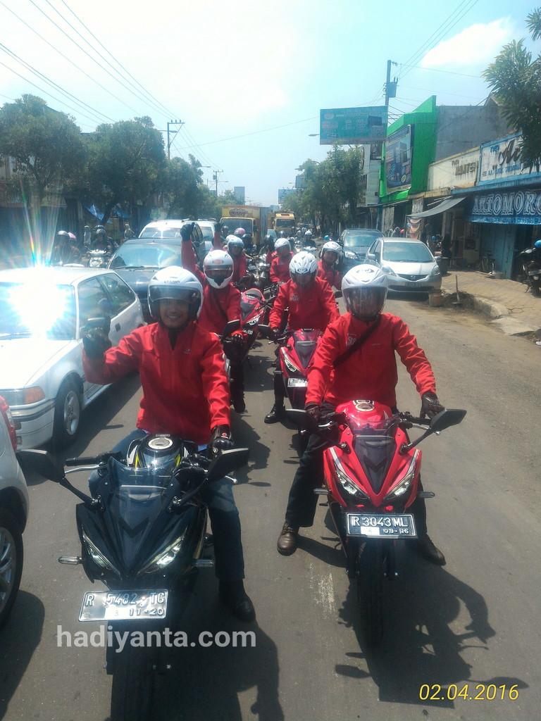 Jalan-jalan di Purwokerto Pake All New CBR 150R, Ngibriiiit
